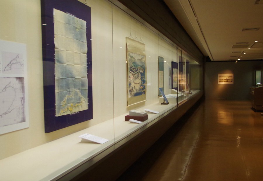 神戸開港150年記念特別展『開国への潮流-開港前夜の兵庫と神戸-』展示風景