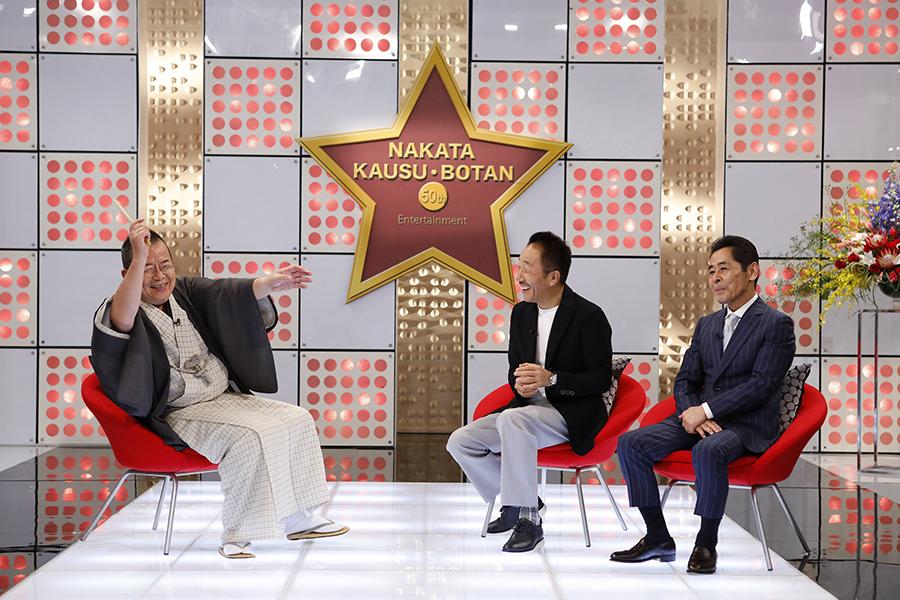 桂文珍が聞き手を務めた、中田カウス・ボタンの漫才一筋半世紀特番