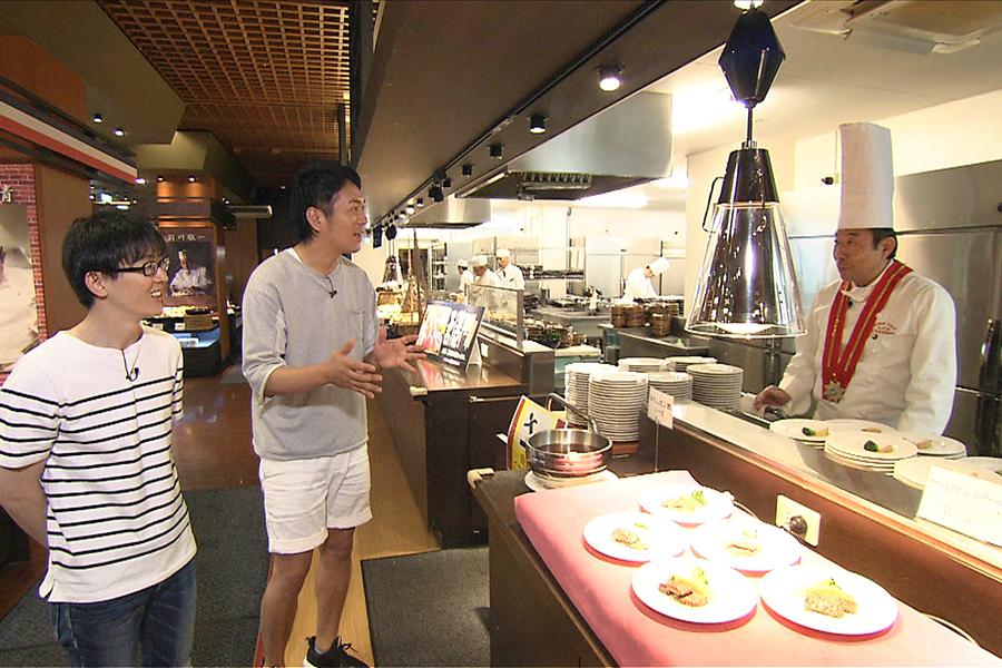 関西の人気スポット「箕面温泉スパーガーデン」のバイキングレストラン