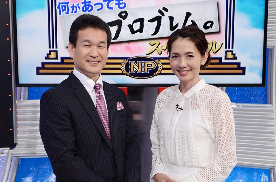 読売テレビ『そこまで言って委員会NP』の司会をつとめる辛坊治郎と渡辺真理