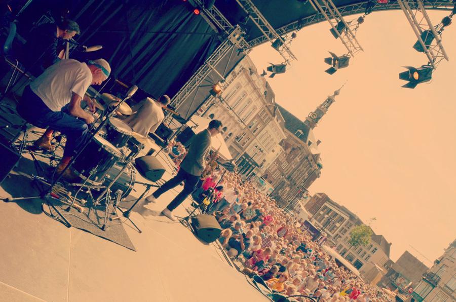 オランダでのThe Quartet NL. ライブの様子