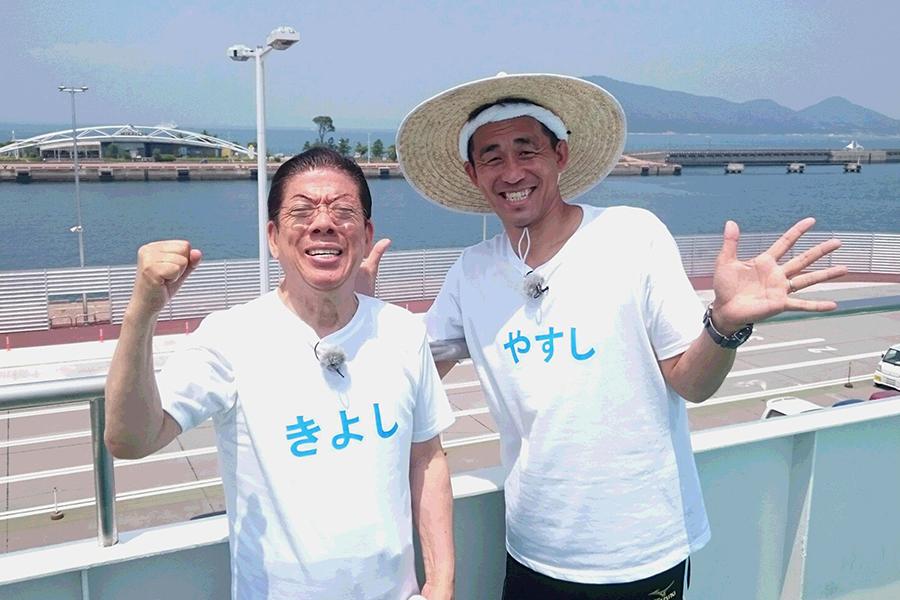 71歳の西川きよしと、51歳の石田靖