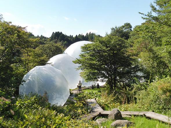 奥中章人《Inter-world-sway》 展示場所:六甲オルゴールミュージアム(神戸市灘区)