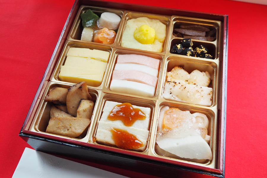 日本ケアミールの「やわらかムース食おせち」12960円
