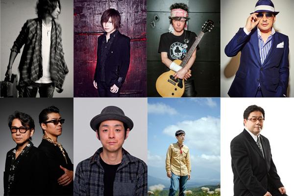 アルバム特設サイトには、各アーティストからのメッセージ紹介も