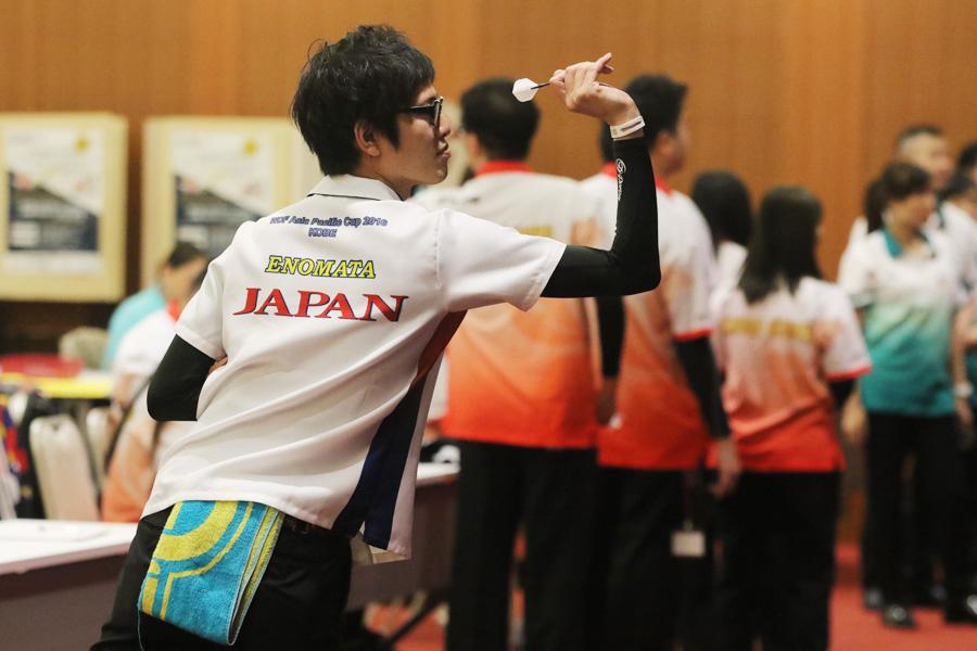 日本男子代表、奈良県出身の榎股慎吾選手