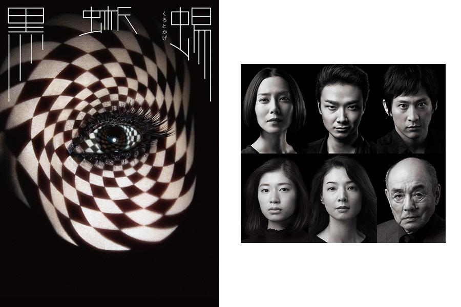 『黒蜥蜴』イメージビジュアル(左)中谷美紀、井上芳雄、成河、朝海ひかる、たかお鷹ら出演者
