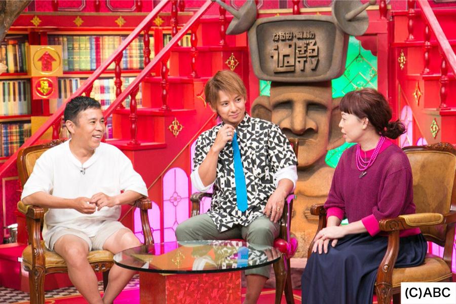 (左から)岡村隆史、松岡充、なるみ
