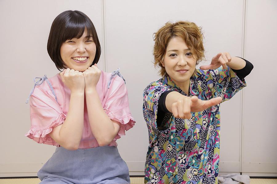 今、大ブレイク中の女芸人・尼神インターの誠子(左)と渚