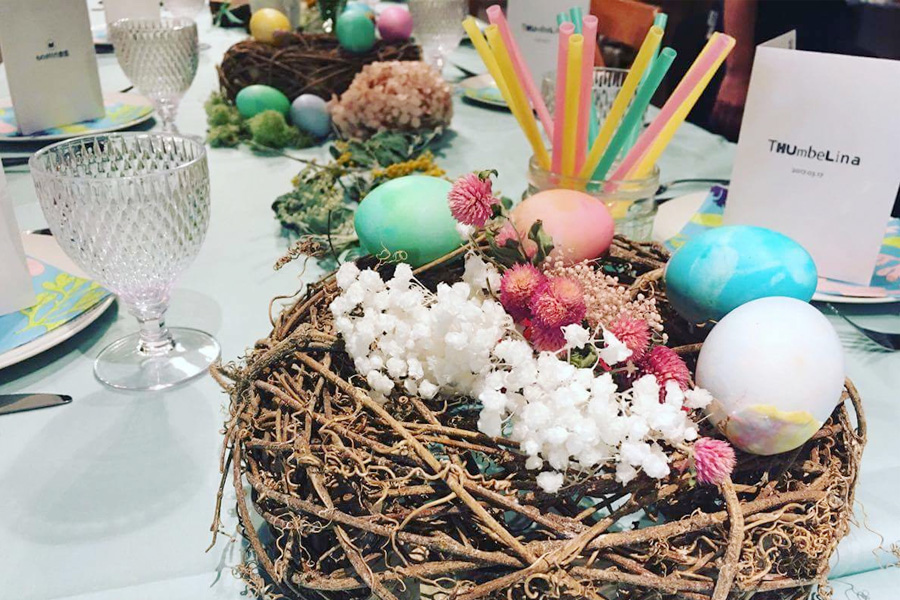 5月に開催された『ものがたり食堂 おやゆび姫』での様子