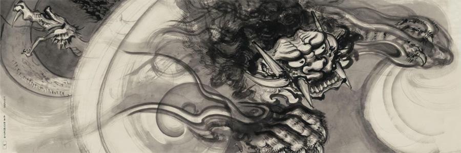 「妖怪ヌエ」 (c) 尾田栄一郎/集英社/京都麦わら道中記推進委員会