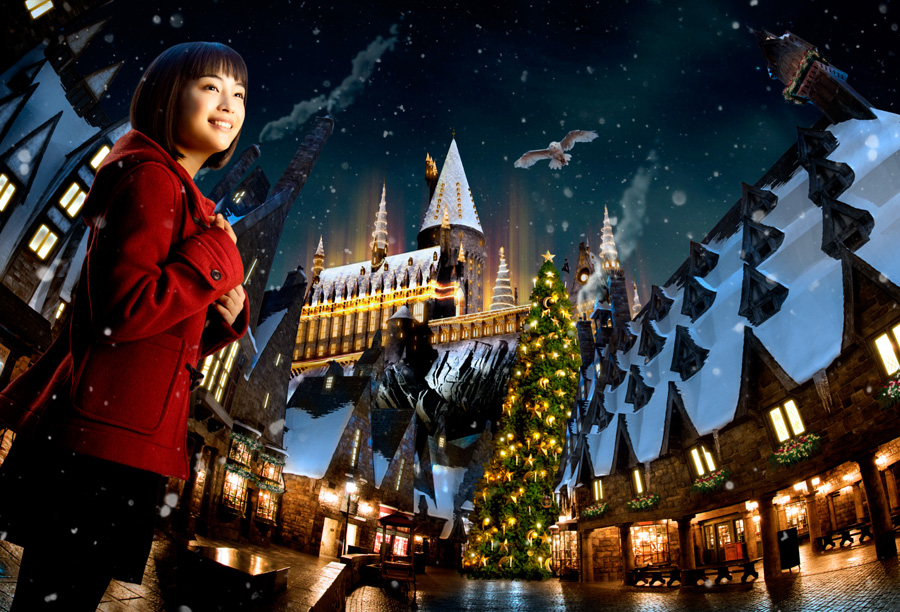 『ウインター・イン・ザ・ウィザーディング・ワールド・オブ・ハリー・ポッター』イメージ 画像提供:ユニバーサル・スタジオ・ジャパン