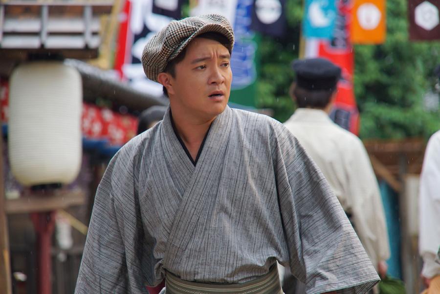 「『軍師官兵衛』で一緒だった桃李ちゃんも一生さんもまた一緒ですし、要らぬ緊張をせずにすんでいます」と濱田