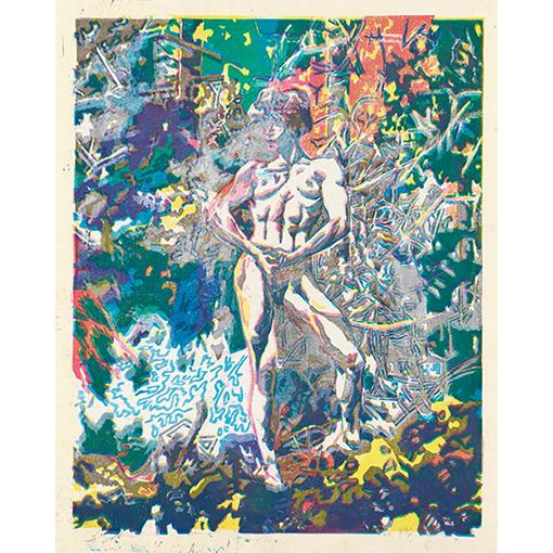 《Lisa Lyon in Izukogen, March 23, 1984-Ⅱ》1986年 作家蔵(横尾忠則現代美術館寄託)