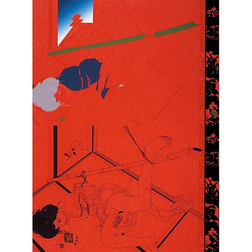 《責場A》1969年 横尾忠則現代美術館蔵