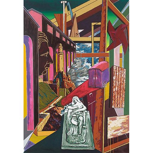 《キリコ−その永遠性》1990年 町田市立国際版画美術館蔵