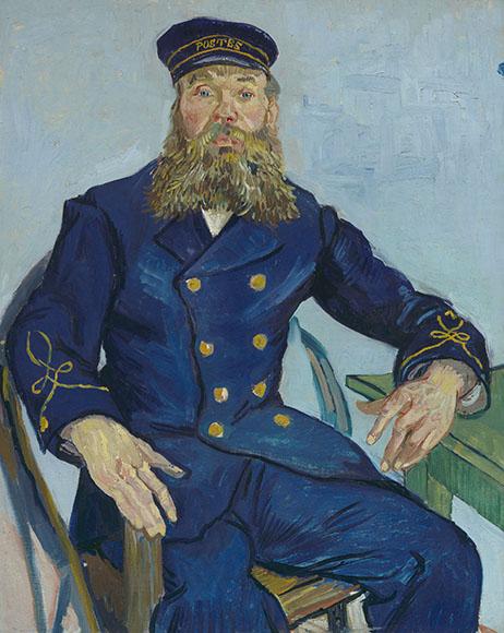 フィンセント・ファン・ゴッホ《郵便配達人ジョゼフ・ルーラン》 1888年 81.3cmx65.4cm 油彩、カンヴァス Gift of Robert Treat Paine 2nd, 35.1982