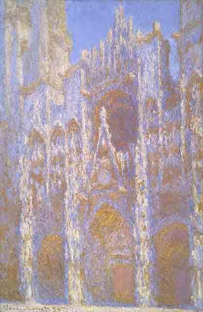 クロード・モネ《ルーアン大聖堂、正面》 1894年 100.6cm×66cm 油彩、カンヴァス Juliana Cheney Edwards Collection, 39.671