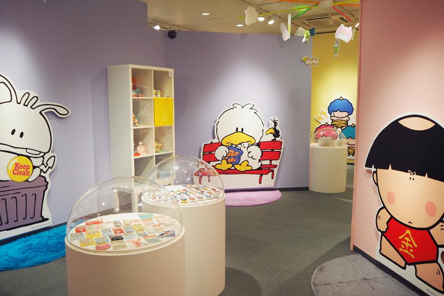 ソニー・クリエイティブプロダクツのキャラクター「レッツキャット」や「バイキンクン」は、クールなデザインから男の子からも人気