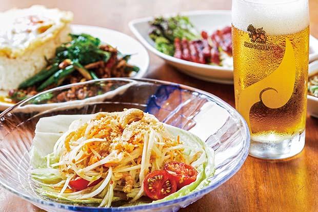 大阪・道頓堀のタイ料理の老舗「クンテープ」も