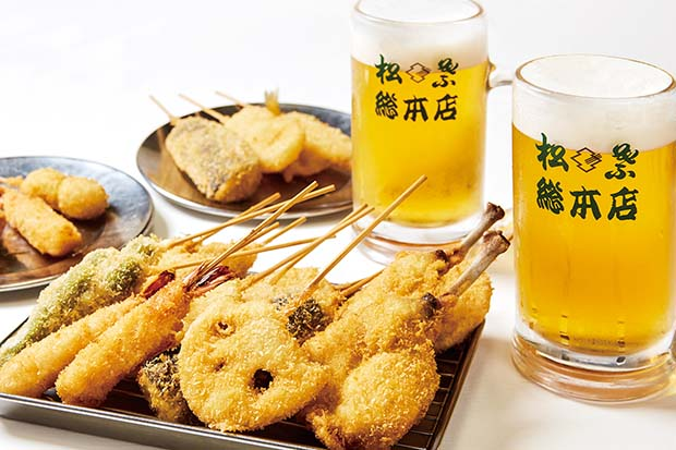 大阪・地下街の立ち飲みの名店「松葉」も登場