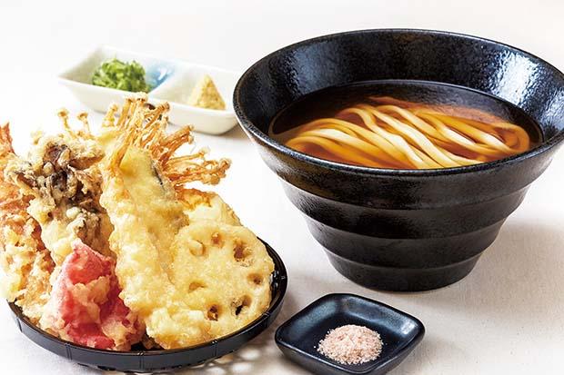 大阪×讃岐のええとこどりうどん「本町製麺所 天」