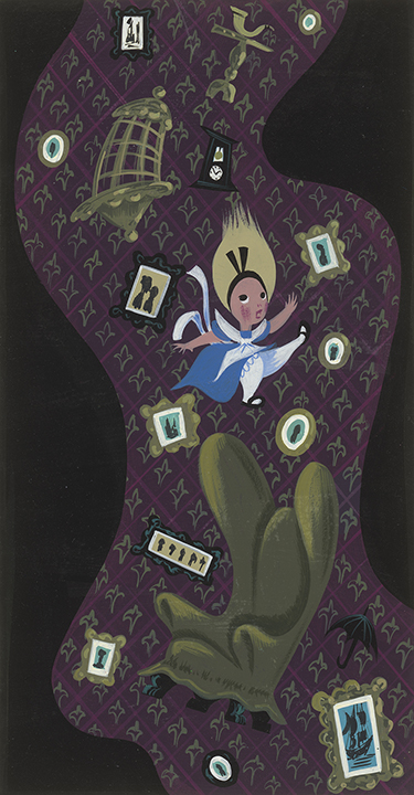 《ふしぎの国のアリス》より 1951年 ©Disney Enterprise, Inc.