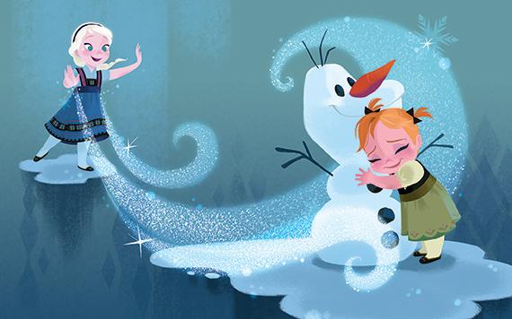 《アナと雪の女王》より 2013年 ©Disney Enterprise, Inc.