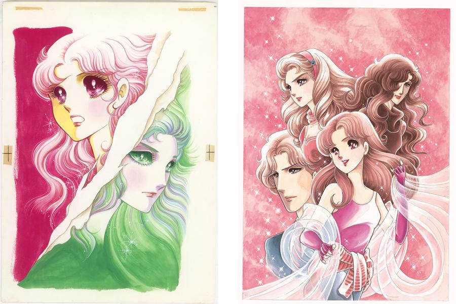 美内先生が本展のために描き下ろしたイラスト ©Miuchi Suzue