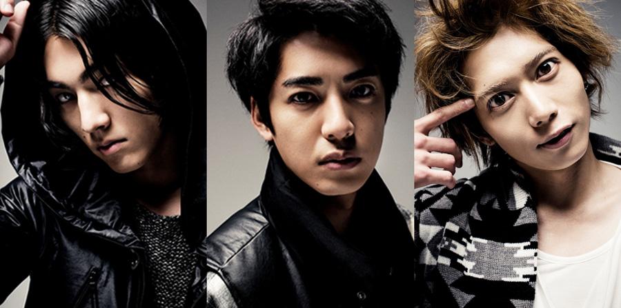 左から出演者の矢部昌暉(DISH//)、大野拓朗、染谷俊之