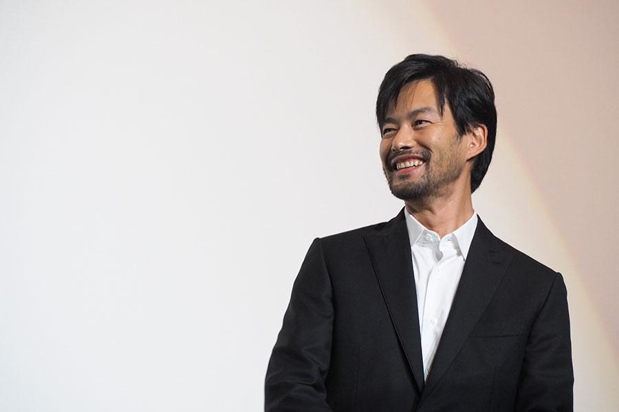 トラブルに見舞われるも、終始笑顔でトークした竹野内豊(28日・大阪市内)