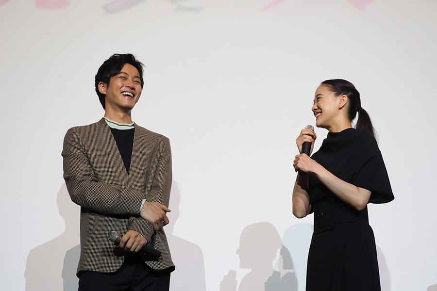 「だんだん腹が立ってきて(笑)」と、松坂桃李の役どころを絶賛した蒼井優(28日・大阪市内)