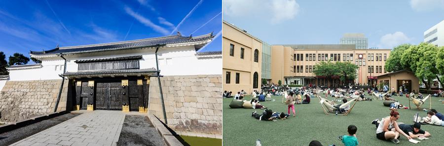 会場となる「元離宮 二条城」と「京都国際マンガミュージアム」