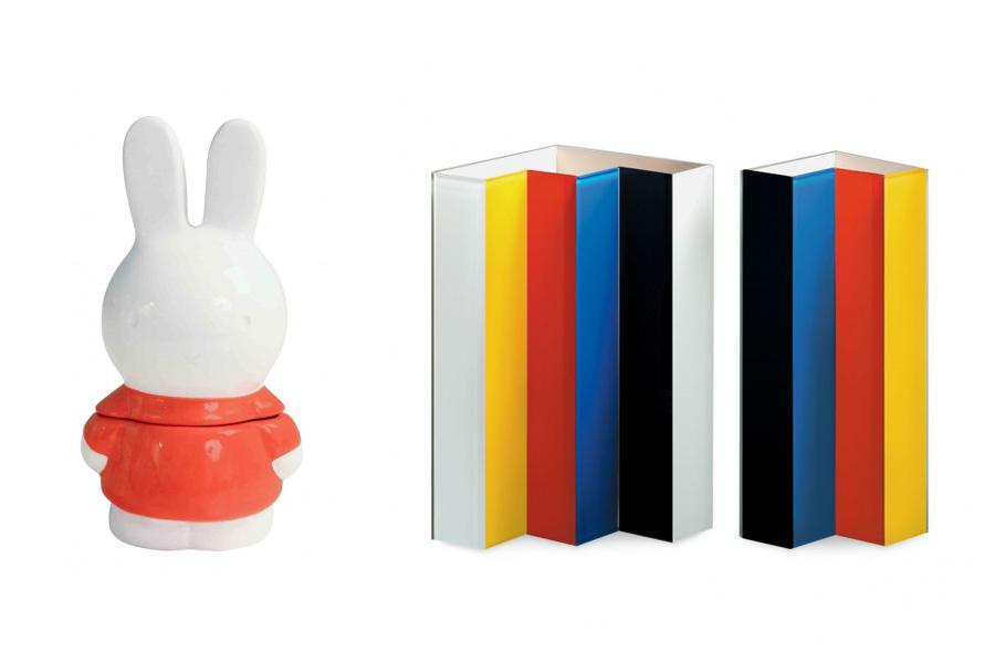 左から「ミッフィー クッキージャーミニレッド」(1944円)、「Line up ベース」(12960円)