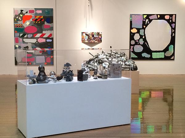 2016年に「金氏徹平のメルカトル・メンブレン丸亀」(丸亀市猪熊弦一郎現代美術館)にて展開された作品が、「MASK」で再構成される