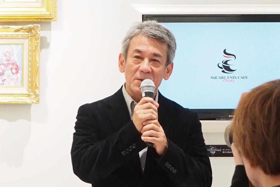 スクウェア・エニックス専務執行役員の橋本真司氏