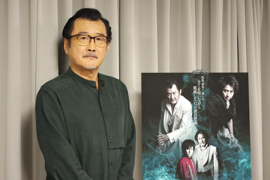 2代目芸術監督として残り5つの本シリーズに向き合う吉田鋼太郎(18日・大阪市内)
