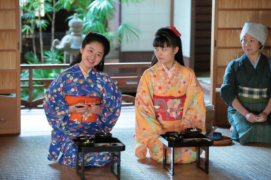 ヒロイン役の葵わかなとは姉妹役。「葵さんとは同じ歳だけど、しっかりしていてすごいなと思っています」と堀田
