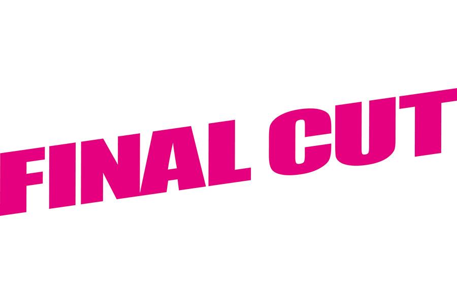 新ドラマ『FINAL CUT』のロゴ