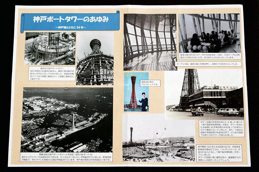 「神戸ポートタワーのあゆみ~神戸港とともに54年~」