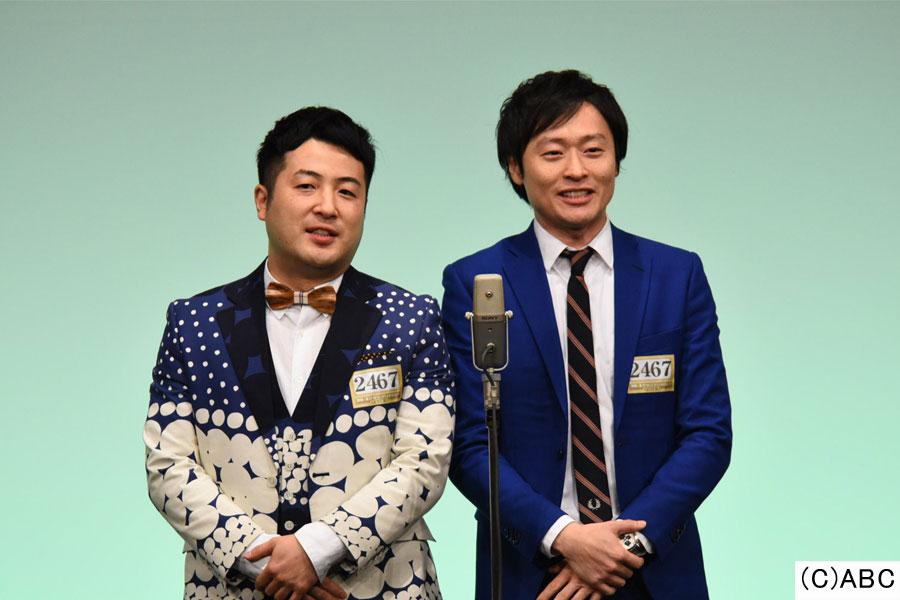 和牛(左から水田信二、川西賢志郎)