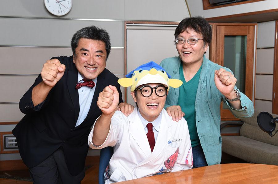 ラジオには京都水族館館長・すみだ水族館名誉館長である下村 実氏が出演している
