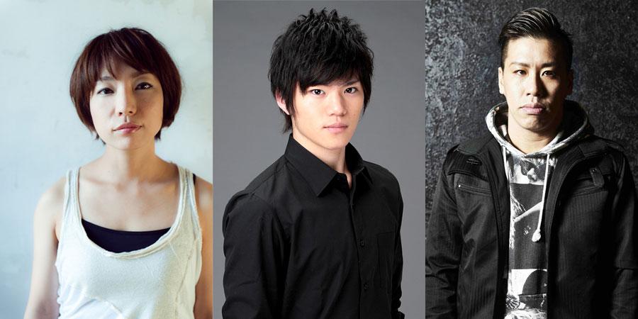 左から菜月チョビ、佐藤祐吾、伊藤今人