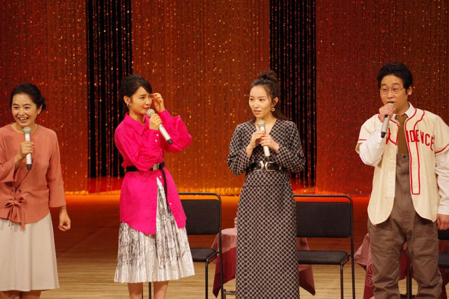『藤吉と栞の人気対決』、会場では栞に軍配が。「しょうがないですよね」とキャストら