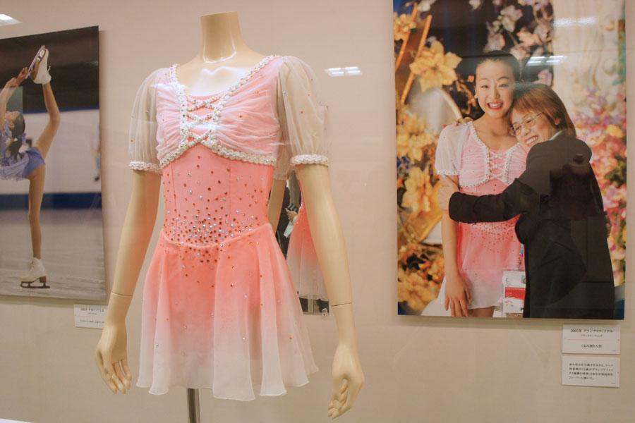 グランプリファイナルで初優勝を果たした際の「くるみ割り人形」の衣装