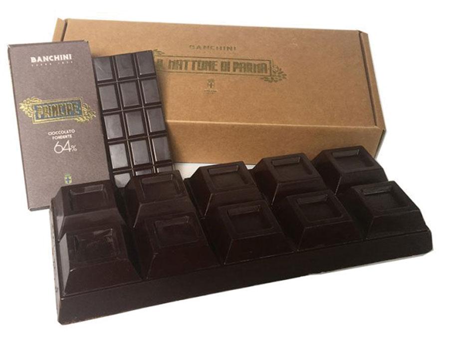 今回のブッフェでは、カカオ64%と100%のバンキー二のチョコレート