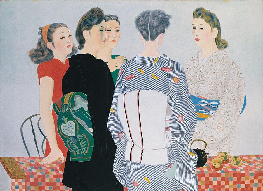 堂本印象《婦女》1948(昭和23)年 京都市美術館蔵