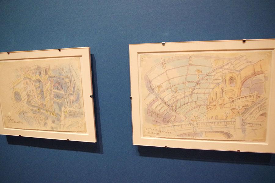 『天空の城ラピュタ』より (C) 1986 Studio Ghibli