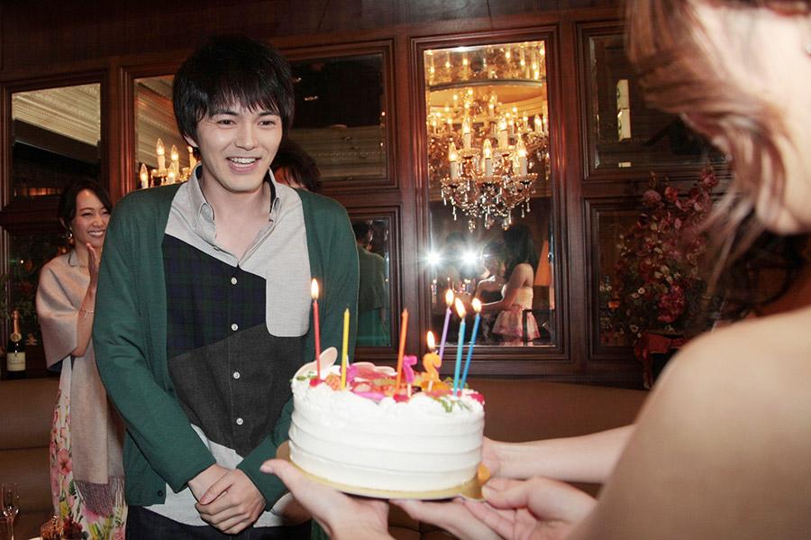 ドラマの撮影現場で27歳の誕生日を迎えた俳優・林遣都