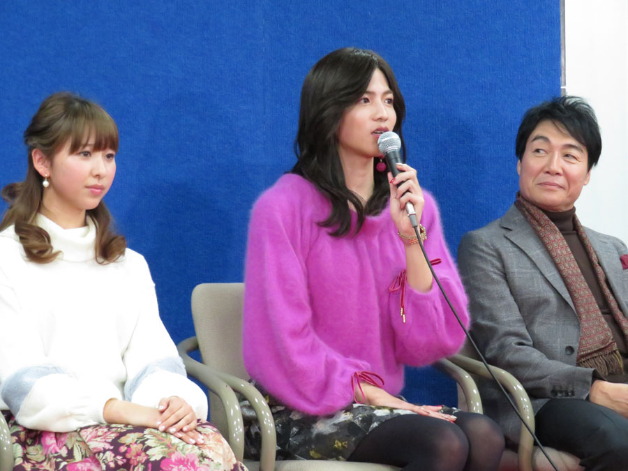 「女性の方は、みきに共感する部分があると思う」と志尊(15日・神戸市)